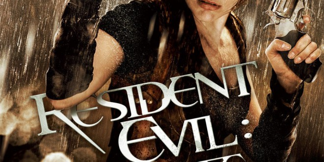 "Poster del film ""Resident Evil: Afterlife"""