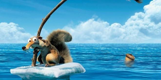 """Poster del film """"L'era glaciale 4 - Continenti alla deriva"""""""