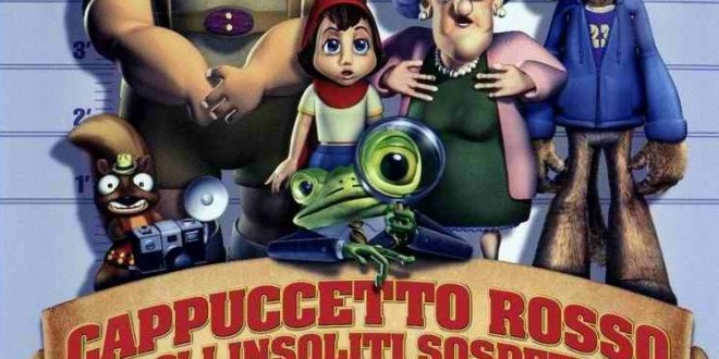 """Poster for the movie """"Cappuccetto rosso e gli insoliti sospetti"""""""