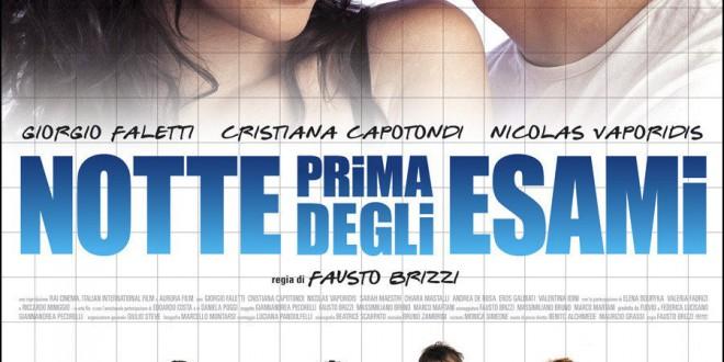 """Poster del film """"Notte prima degli esami"""""""
