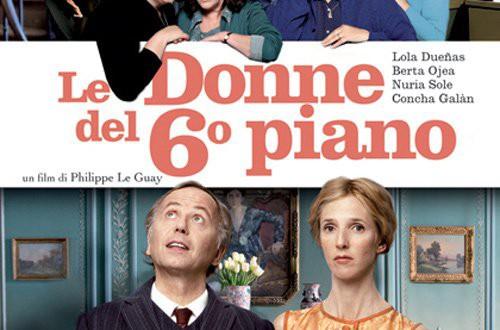 """Poster del film """"Le donne del 6° piano"""""""