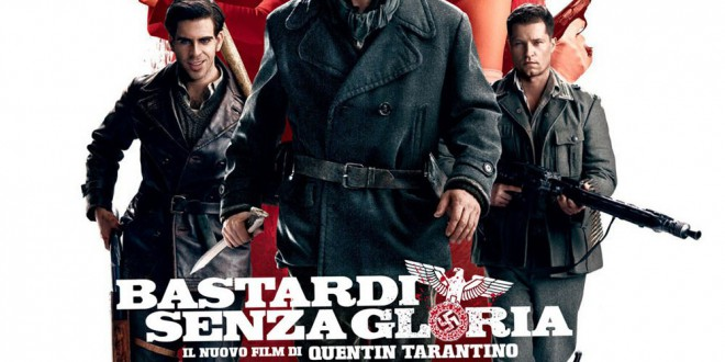 "Poster for the movie ""Bastardi senza gloria"""