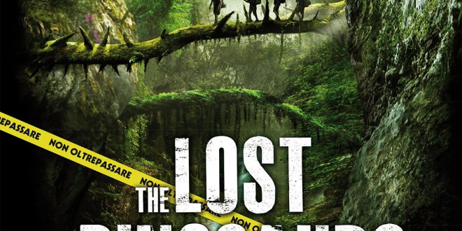 "Poster del film ""The Lost Dinosaurs"""