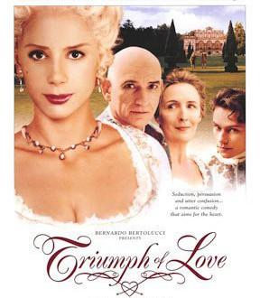"""Poster del film """"Il trionfo dell'amore"""""""