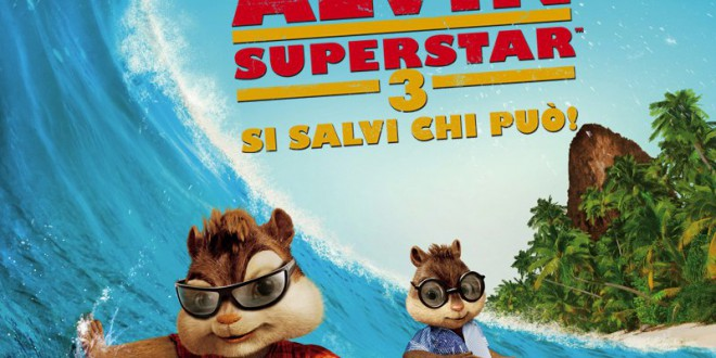 "Poster for the movie ""Alvin Superstar 3 - Si salvi chi può!"""