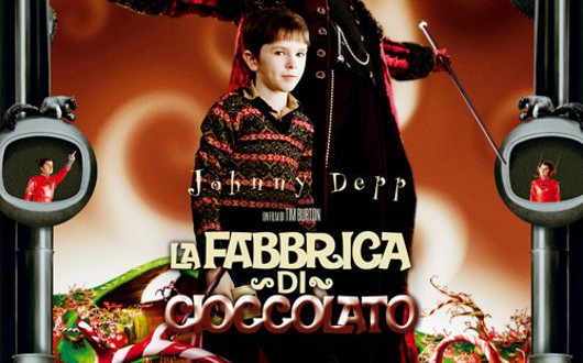 "Poster for the movie ""La fabbrica di cioccolato"""