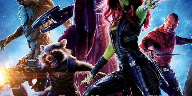 """Poster del film """"Guardiani della Galassia"""""""