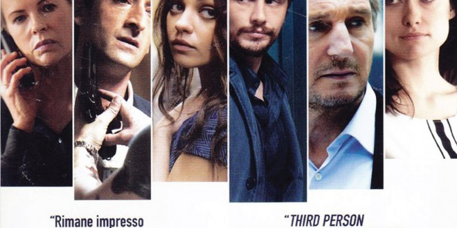 "Poster del film ""Third Person"""
