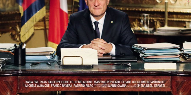 """Poster for the movie """"Benvenuto Presidente!"""""""