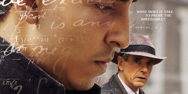 """Poster del film """"L'uomo che vide l'infinito"""""""