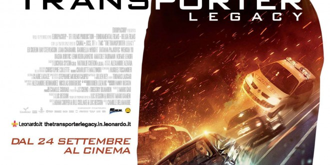 "Poster del film ""The Transporter Legacy"""