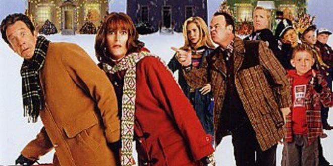 "Poster del film ""Fuga dal Natale"""