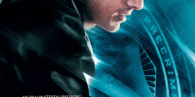 "Poster del film ""Minority Report"""