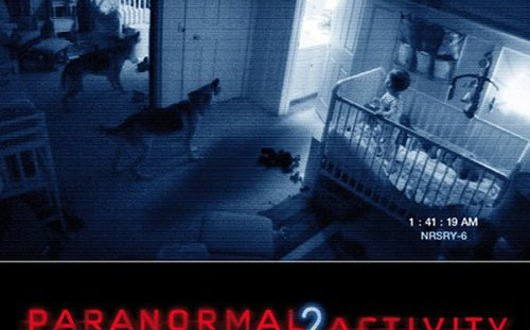 "Poster del film ""Paranormal Activity 2"""