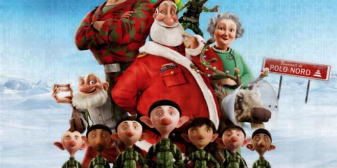 """Poster del film """"Il figlio di Babbo Natale"""""""