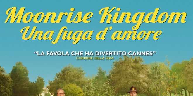 "Poster del film ""Moonrise Kingdom - Una fuga d'amore"""