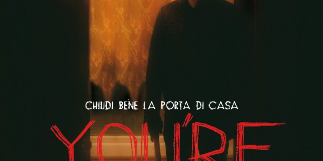 "Poster del film ""You're next"""