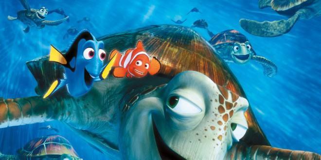 """Poster for the movie """"Alla ricerca di Nemo"""""""