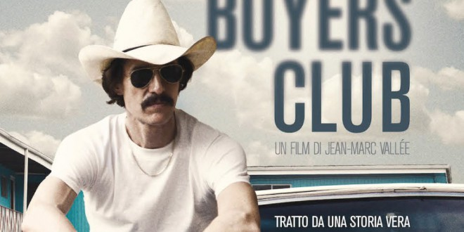 "Poster del film ""Dallas Buyers Club"""