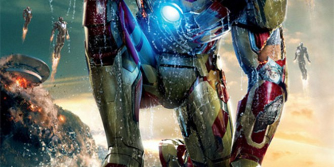 "Poster del film ""Iron Man 3"""