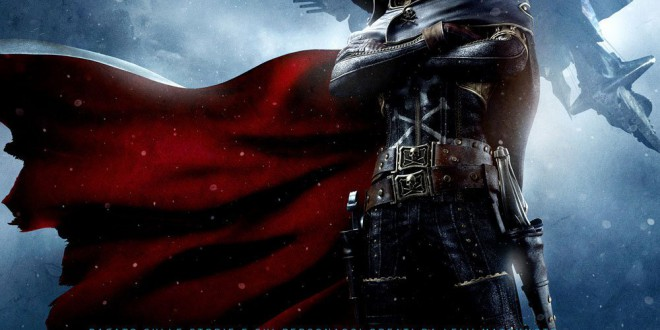 "Poster for the movie ""Capitan Harlock"""