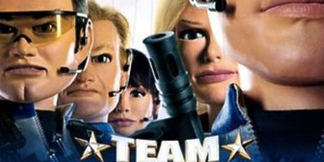 "Poster del film ""Team America: World Police"""