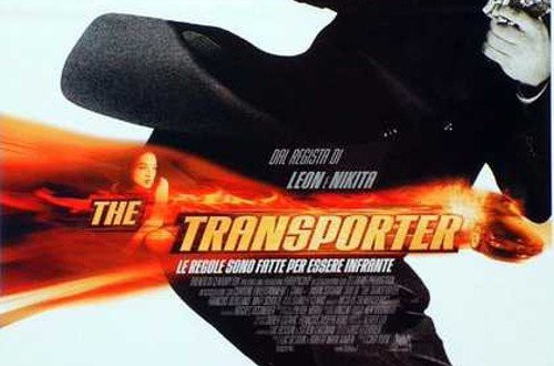 "Poster del film ""The Transporter"""