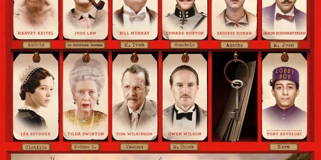 "Poster del film ""Grand Budapest Hotel"""