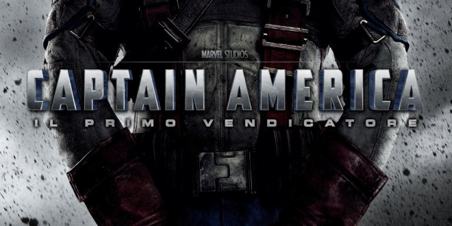"Poster for the movie ""Captain America - Il primo vendicatore"""