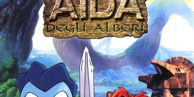 """Poster for the movie """"Aida Degli Alberi"""""""