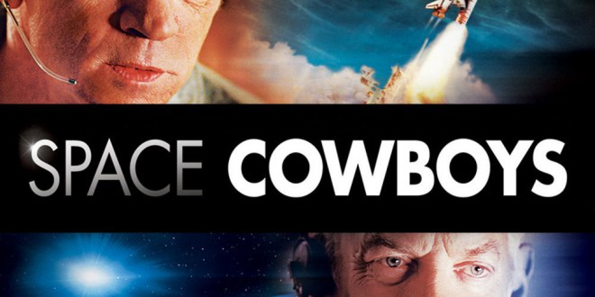 "Poster del film ""Space Cowboys"""