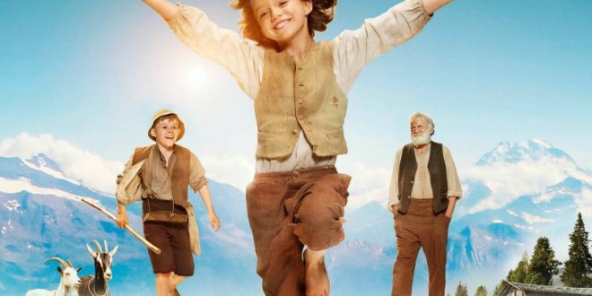 "Poster del film ""Heidi"""