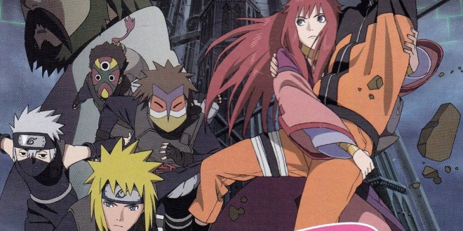 """Poster del film """"Naruto Shippuden il film: La torre perduta"""""""