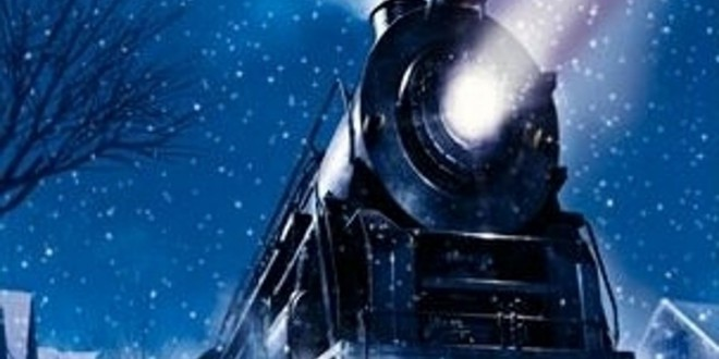 "Poster del film ""Polar Express"""