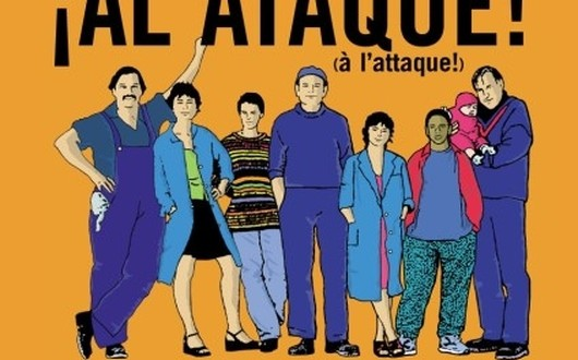 "Poster for the movie ""À l'attaque !"""