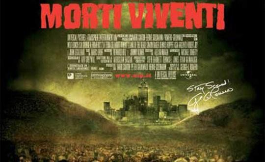 """Poster del film """"La terra dei morti viventi"""""""
