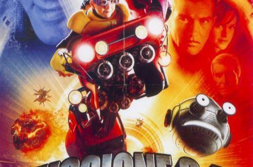 "Poster del film ""Missione 3D - Game Over"""