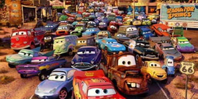 "Poster for the movie ""Cars - Motori ruggenti"""
