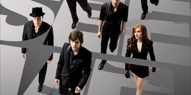 "Poster del film ""Now you see me - I maghi del crimine"""