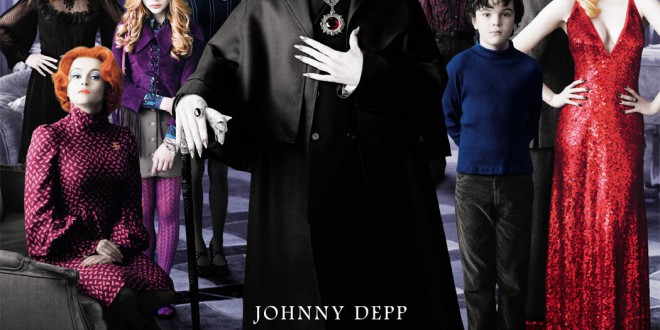 "Poster del film ""Dark Shadows"""