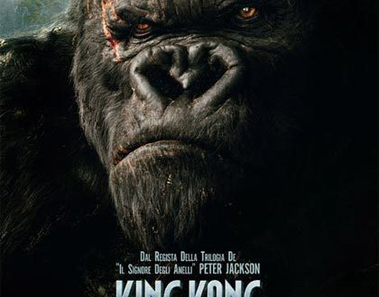 "Poster del film ""King Kong"""