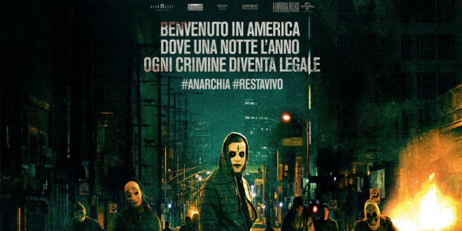 "Poster for the movie ""Anarchia - La notte del giudizio"""