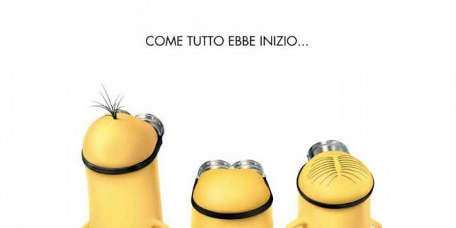 """Poster del film """"Minions"""""""