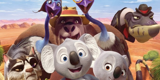 "Poster for the movie ""Billy il koala - Le avventure di Blinky Bill"""
