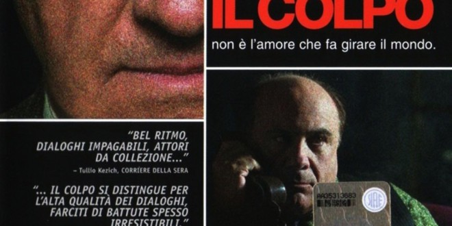"""Poster del film """"Il colpo"""""""