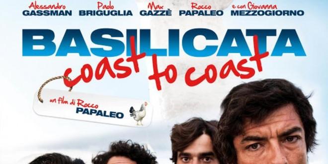 "Poster for the movie ""Basilicata Coast to Coast"""