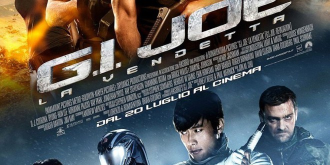 "Poster del film ""G.I. Joe - La vendetta"""