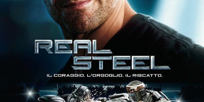 "Poster del film ""Real Steel"""