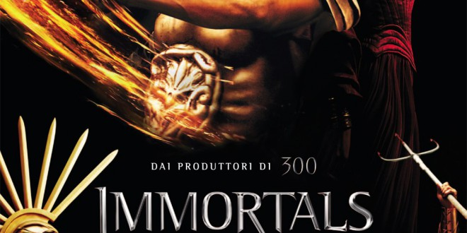 "Poster del film ""Immortals"""