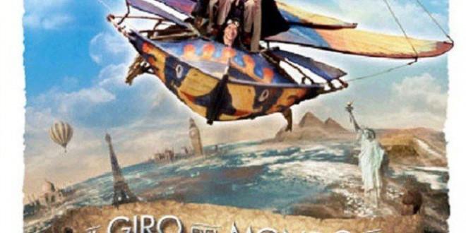 """Poster del film """"Il giro del mondo in 80 giorni"""""""